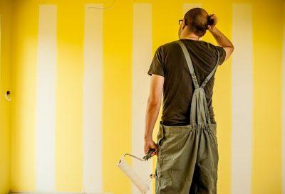 Pracownik, malarz