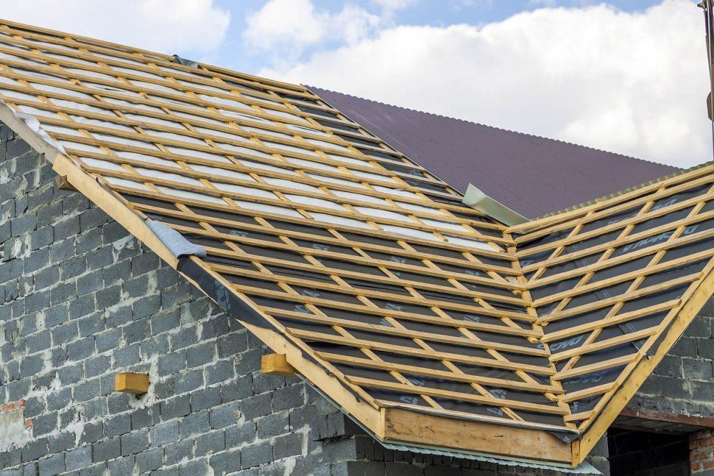 membrana i krokwie dachowe