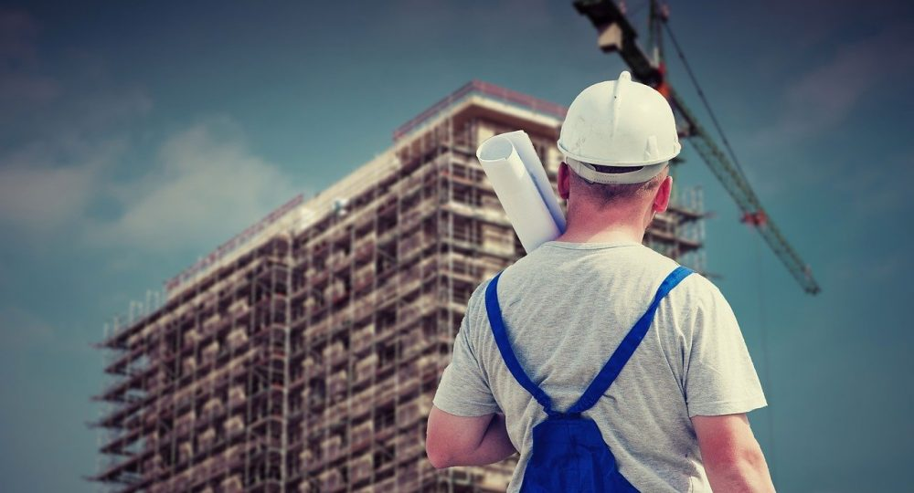 Fachowiec na budowie