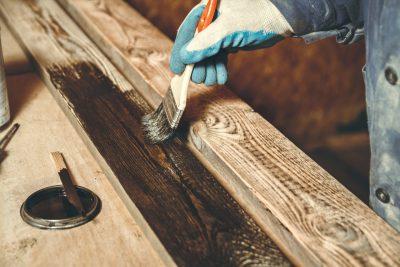 impregnacja drewnianej elewacji
