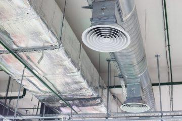 wentylacja mechaniczna w budynku