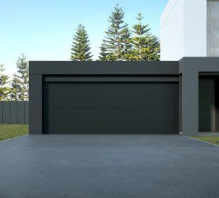 nowoczesny garaż