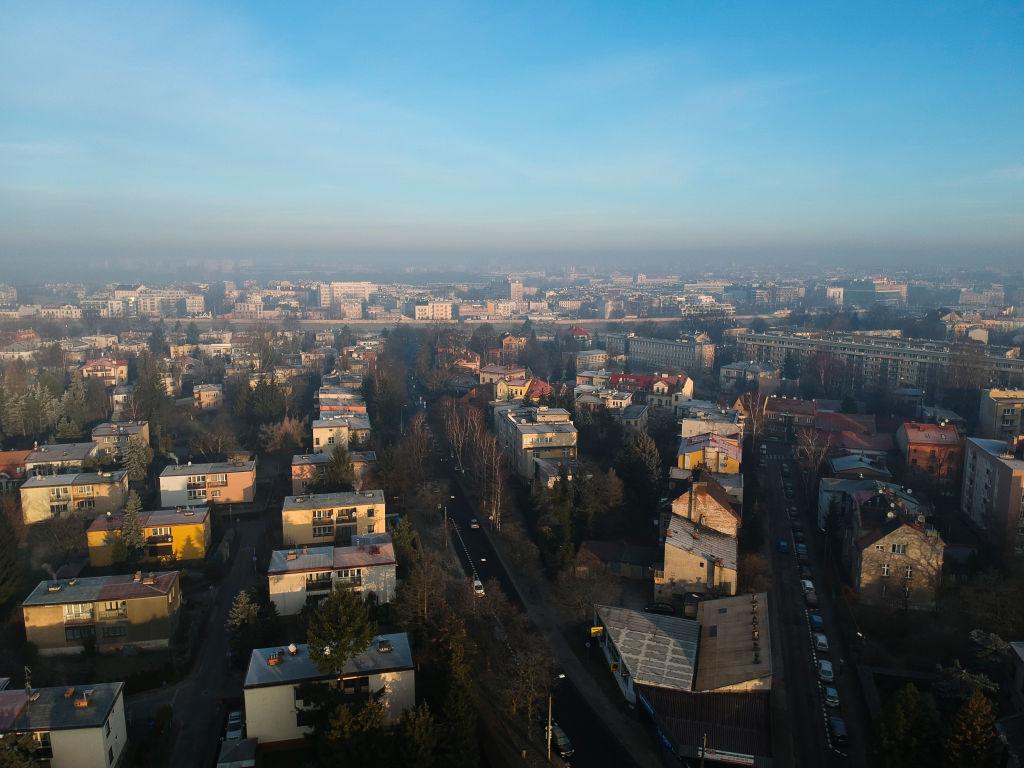 Kraków, osiedle domków jednorodzinnych