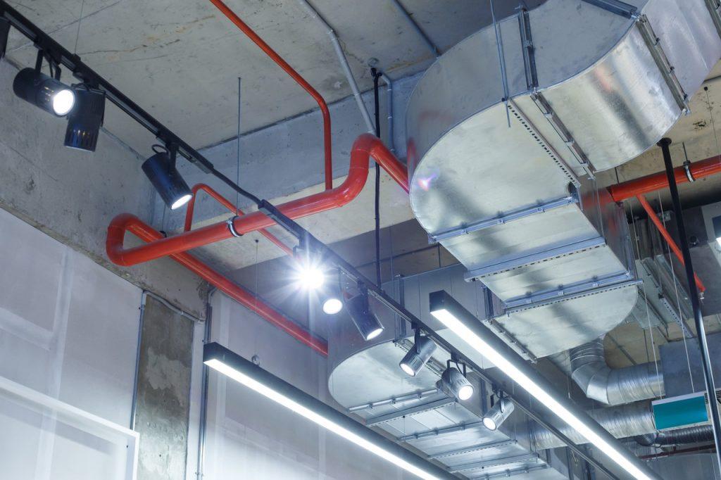 wentylacja grawitacyjna w budynku