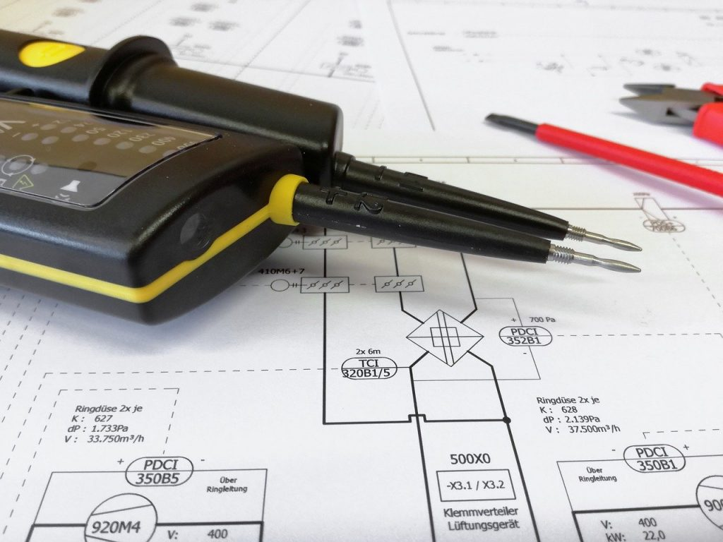 projekt elektryki domowej