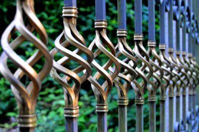ogrodzenie z metalu