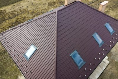 dach kopertowy