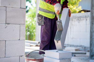 budowa ściany